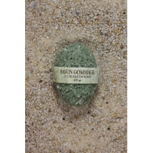savon gommage huile d'olive