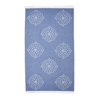 Fouta Pestemal Medallion Denim