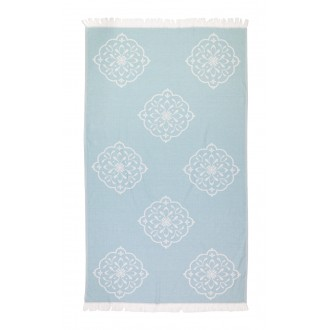 Fouta Pestemal Medallion Teal